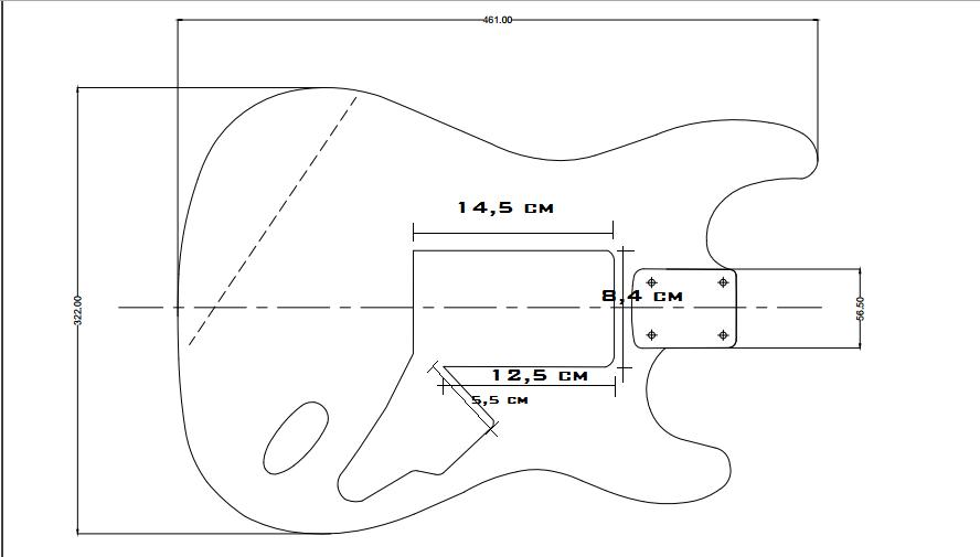 Costruire una chitarra elettrica video del body for Costruire una casa da zero